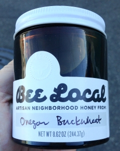 Bee Local Honey Oregon Buckwheat