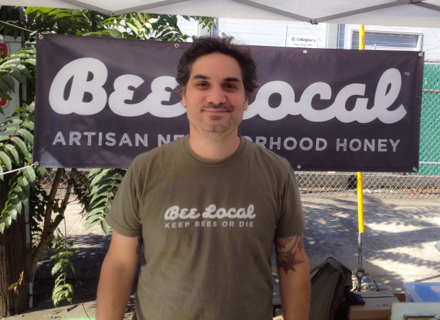 Bee Local Honey Founder Damian Magista