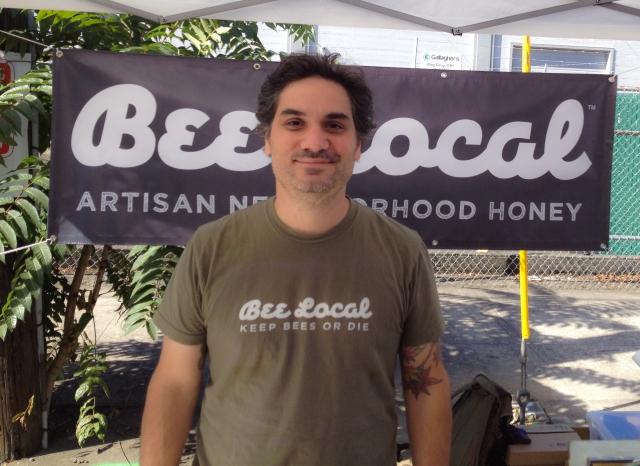 Bee Local Honey Founder Damian Magista